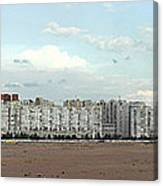 Apartment Blocks At The Waterfront, St Canvas Print
