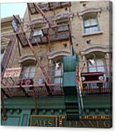 Apartment To Let At Finnegans Canvas Print