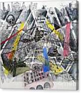 Apocalypse In Paradise 1  Canvas Print
