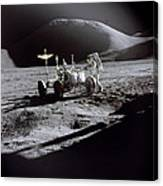 Apollo 15 Lunar Rover Canvas Print