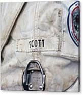 Apollo Lunar Suit Canvas Print
