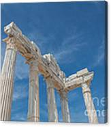 Apollo Temple Canvas Print