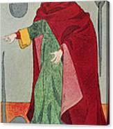 Apothecary, 15th Century Canvas Print