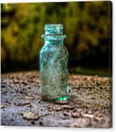 Apothecary Bottle Canvas Print