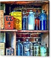 Apothecary Stockroom Canvas Print