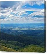 Appalachain Trail View Canvas Print