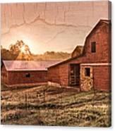 Appalachian Barns Canvas Print