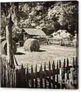 Appalachian Barnyard Canvas Print