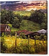 Appalachian Mountain Farm Canvas Print