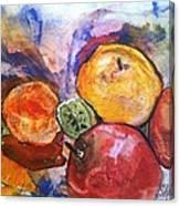 Appetite For Color Canvas Print