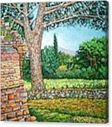 Appia Antica, View, 2008 Canvas Print