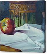 Apple And Pottery Canvas Print