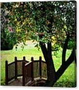 Apple Bridge Canvas Print