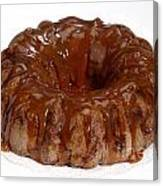 Apple Caramel Bundt Cake Canvas Print