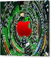 Apple Computer Abstract  Canvas Print