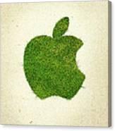 Apple Grass Logo Canvas Print