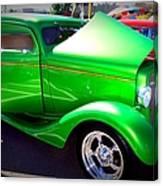 Apple Green Jewel Canvas Print