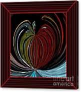 Apple Of My Eye In Frame Canvas Print