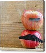Apple Over Apple Canvas Print