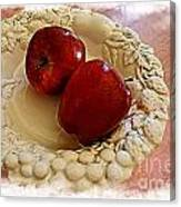 Apple Still Life 3 Canvas Print