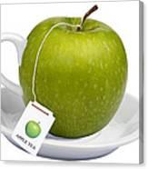 Apple Tea Canvas Print