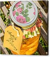 Applepie Filling Canned Canvas Print