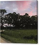 Appleton Sunset Canvas Print
