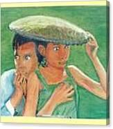 Apprehension In Vietnam Canvas Print