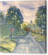 Approach To Kilham Canvas Print
