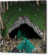 Approach To The Kobold Caves Canvas Print