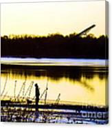 Approaching Dawn Canvas Print