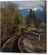 Approaching Grants Pass 1 Canvas Print