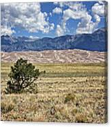 Approaching Great Sand Dunes #2 Canvas Print