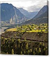 Approaching Lillooet Canvas Print