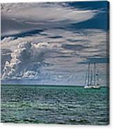 Approaching Storm At Whale Harbor Canvas Print