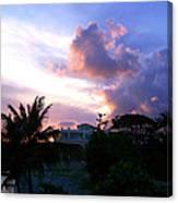 Approaching Storm Palmas Del Mar Canvas Print