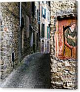 Apricale.italy Canvas Print