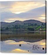 April In Donegal - Lough Eske Canvas Print