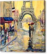 April In Paris Canvas Print