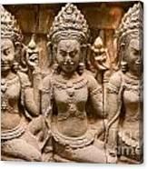 Apsara - Angkor Wat Canvas Print