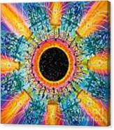 Apus Iris Constellation Canvas Print