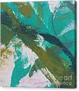 Aqua And Green Canvas Print