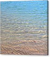 Aqua Art Canvas Print