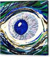 Aqua Eye Canvas Print