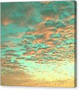 Aqua Heaven Canvas Print