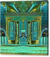 Aqua House 2 Canvas Print