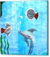Aqua Life Canvas Print