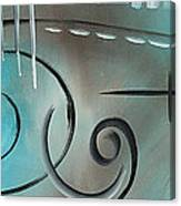 Aqua Mist By Madart Canvas Print