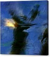 Aquarelle  Blue #1 Canvas Print
