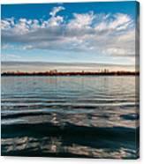 Aquatic Hypnotic Canvas Print